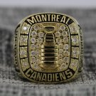 1964 Montreal Canadiens Stanley Cup Championship ring size 13 Back Solid