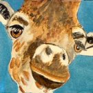 ACEO Hello Giraffe