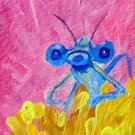 ACEO Dragonfly face