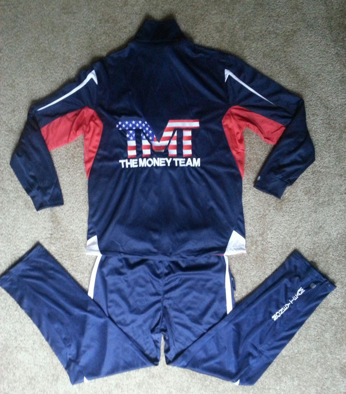Exclusive TMT Mayweather vs. Paquiao Official Team Jogging Suit Medium
