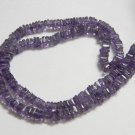 Amethyst Square Heishi Cut Beads 16 inch strand 4 mm approx