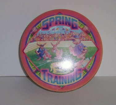 Collectable tin, Spring Training, multi-color, 6 1/2 x 2 in