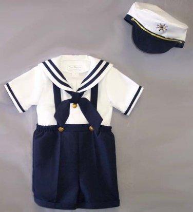 Infants Nautical Short Set, Large, 3T