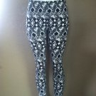 Tribal Black & White Aztec Print Leggings by Cali West Boutique