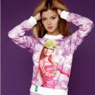 3D Sweatshirt Hip Hop Barbie Pink Purple Camouflage by Cali West Boutique