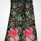 *MONSOON* GORGEOUS CREPE FLORAL LINED DRESS SIZE 10