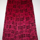 *CASUAL CLUB DEBENHAMS* PRETTY COTTON PRINT GODET SKIRT SIZE 18
