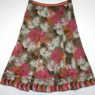 *FAT FACE* PRETTY COTTON FLORAL LINED SKIRT SIZE 10