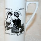 VERY RARE EARLY 1960'S PORTMEIRION CORSETS ELEGANT MUG