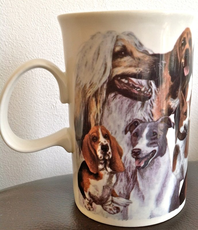 AFGHANS, TERRIERS, HOUNDS AND MANY MORE! LOVELY DOGS MUG FROM DUNOON