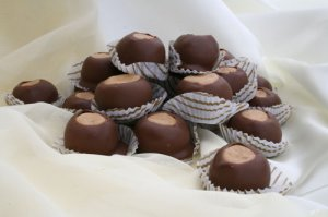 OHIO BUCKEYES MILK CHOCOLATE 1 POUND MADE FRESH FAST