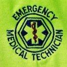 EMT Emergency Medical Technician Neon Safety Yellow Short Sleeve T Shirt 3X New