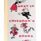 Best In Children's Books Volume 3 Various Stories and Authors Vintage 1958