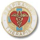 Respiratory Therapist Heart Medical Emblem Pin New