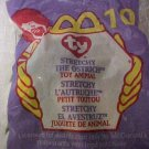 McDonalds Ty Beanie Baby Stretchy Ostrich Plush Toys Packaged Collectible