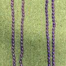 Busch Gardens Tampa Jungala Jungle Leaf Bead Necklace Lot of 2 Costume Fashion