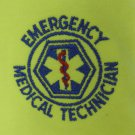 EMT Emergency Medical Technician Star of Life Safety Green S/S Polo Shirt 3X  N