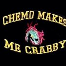Chemo Makes Me Crabby Black Embroidery Crab Cancer Awareness S/S T Shirt 2XL New