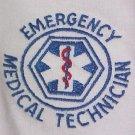 EMT Emergency Medical Technician White Crew Neck Sweatshirt Star Unisex S New