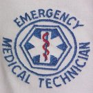 EMT Emergency Medical Technician EMS White Hoodie Sweatshirt Star Unisex S New