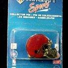 NFL Collector Pin Lapel Cap Tac Red Football Helmet Wincraft Sports New
