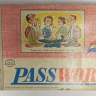 Vintage 1963 Milton Bradley Password Board Word Card Game Vol 3 Collectible