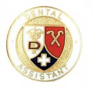 Dental Assistant Lapel Pin with Safety Catch Caduceus Cross Graduation Pins New