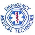 EMT T Shirt 2XL Emergency Medical Technician White Short Sleeve Blend Star New