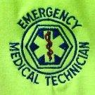 EMT T Shirt 3XL Emergency Medical Technician Neon Safety Green Short Sleeve New