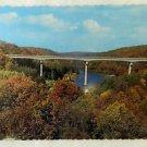 Vintage Uncirculated Interstate 80 Brookeville Interchange Souvenir Postcard
