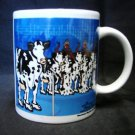 Moosical Cows Mug Mootown Rhythm Blues Jammin Jazz Combo Cup 2003 Collectible