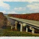 Vintage Uncirculated Interstate 80 Clarion River Bridge Souvenir Postcard Unused