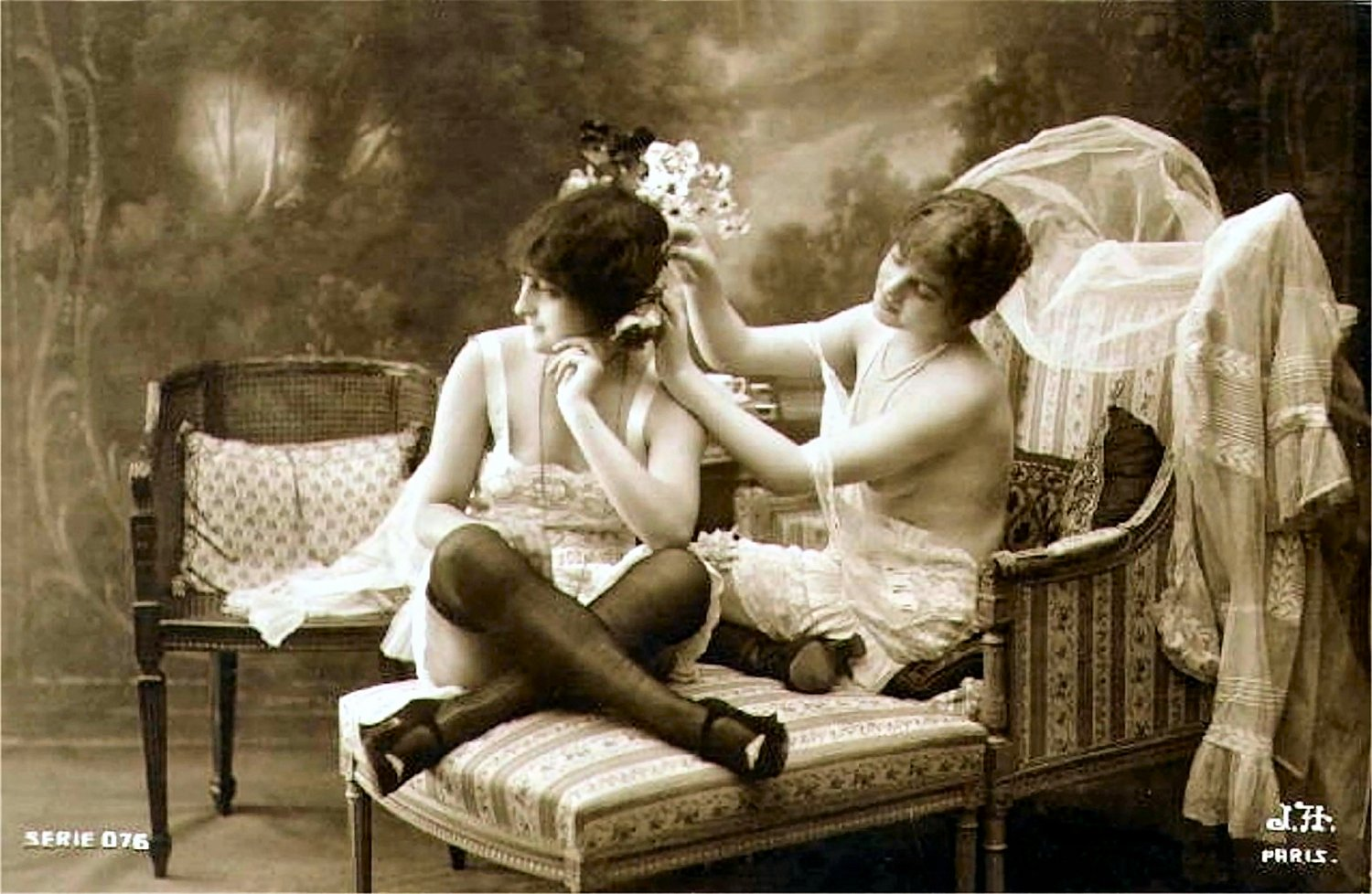 vintage erotic image in downloadable and printable digital format.