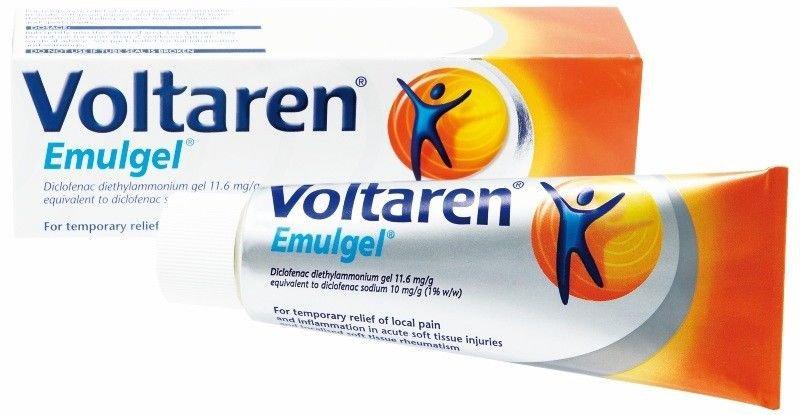 Voltaren Emulgel Gel Cream Treatment Of Rheumatoid Arthritis Inflamation 50g