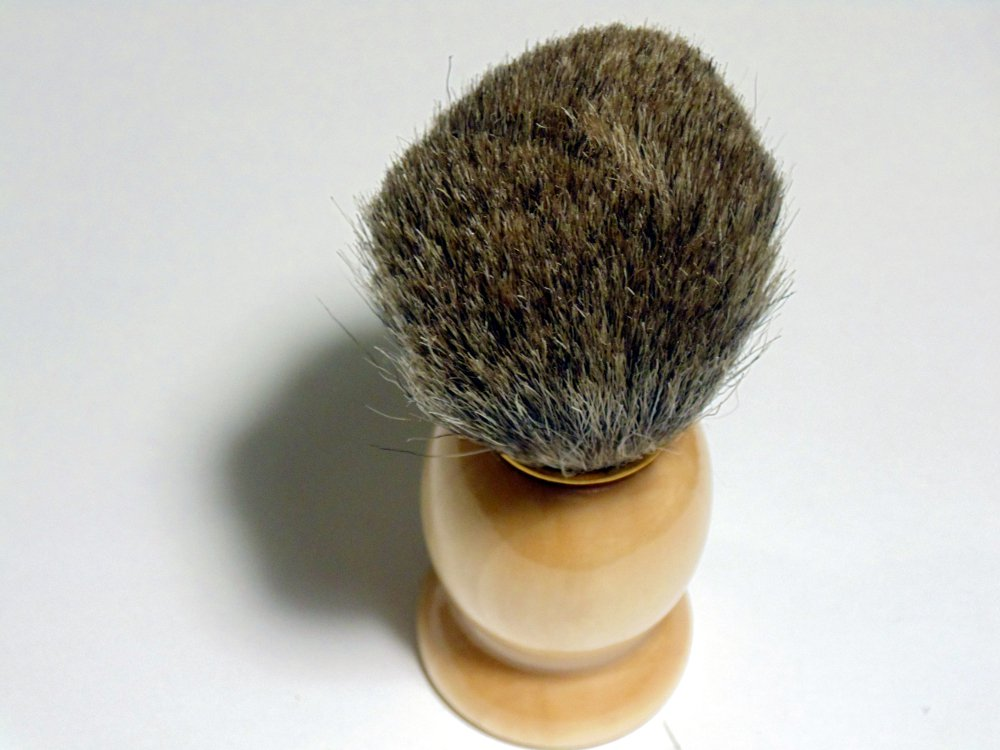 Best Silver Tipped BADGER Hair Shaving Brush with Wooden Wood Handle