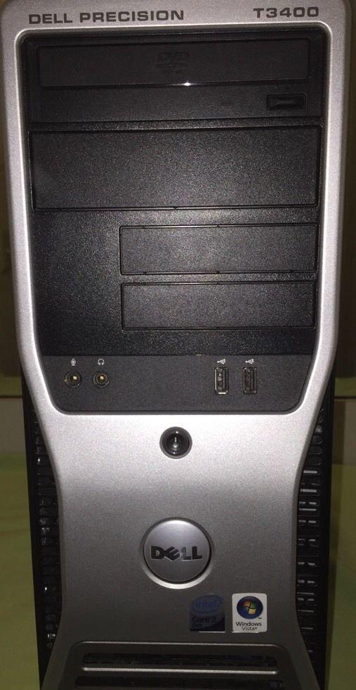 Dell Precision T3400 Core2Duo E6550 @ 2.33GHz/4GB/No HDD/NoOS/DVD ROM