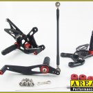 2009-2014 Yamaha YZF-R1 Area 22 CNC Adjustable Rear Sets Black Rearset R1