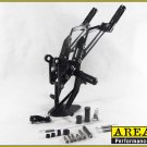 Area 22 2014 2015 Honda MSX125 Grom CNC Rearsets Rear Set Foot Controls Black