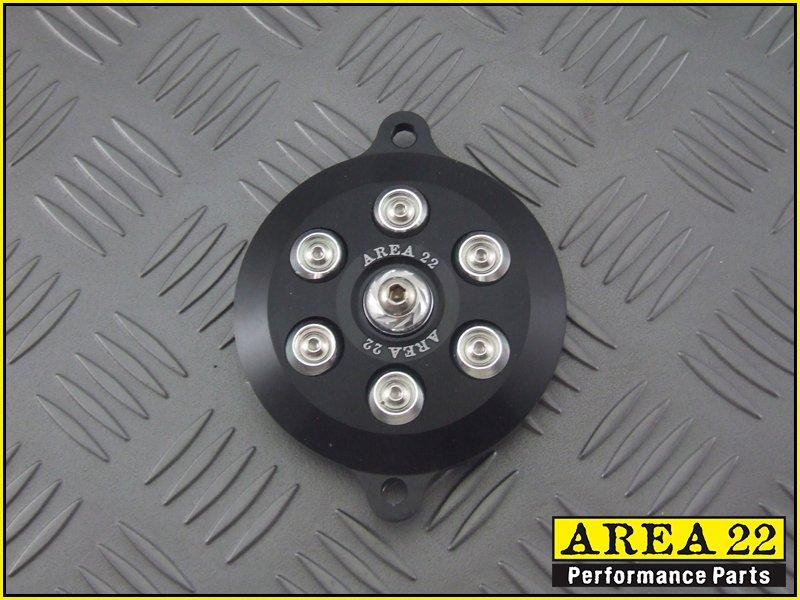 Area 22 2014 2015 Honda MSX125 Grom Cam Cover Engine Dress Up Black