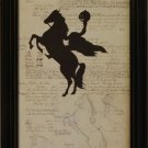 Silhouette Document Headless Horseman