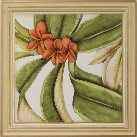 Tropical Blooms I
