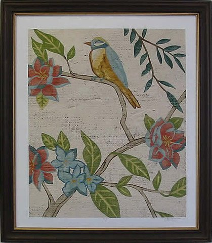 Antique Aviary IV