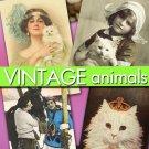 Digital images 700 vintage print