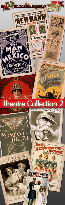 Theatre Posters, 1040 jpeg Img. -Part.2- theater drama actors belle epoque paris