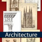 Digital collection Antique Architecture - cards decorative