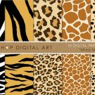 Digital Paper Africa Skins