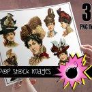 Victorian Women in Hats