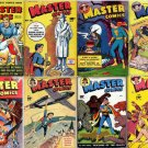 Fawcett MASTER COMICS DVD  1940s Marvel Jr. Bulletman Minute Man books