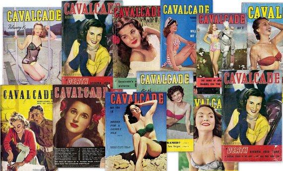 DVD Pulp Fiction (1941 K G Murray) CAVALCADE MAGAZINES Golden Age Women Pin Up