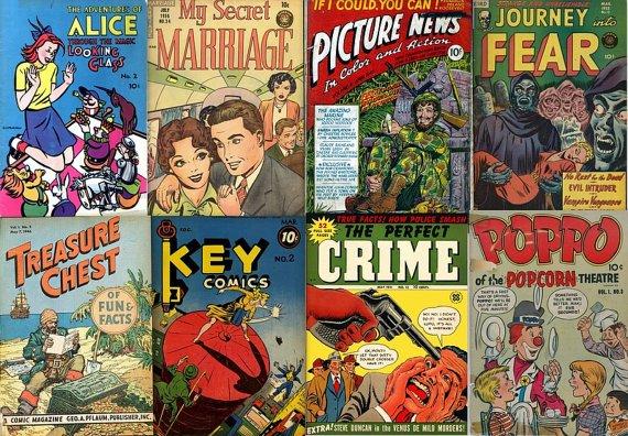 DVD Golden Age CANADIAN COMIC Books Superior Triumph Action Key Treasure Chest